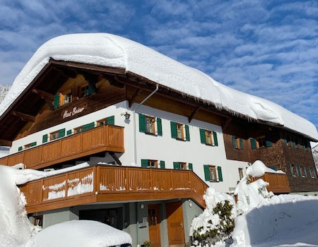 Amazing Haus Beiser Appartement Lech Am Arlberg Im Winter
