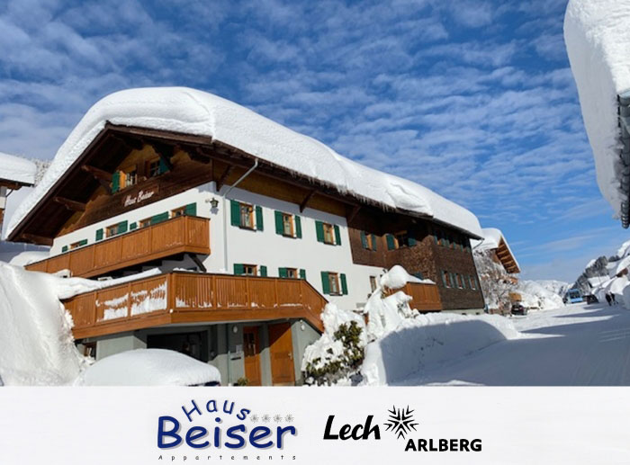 Haus Beiser - Apartment in Lech am Arlberg!